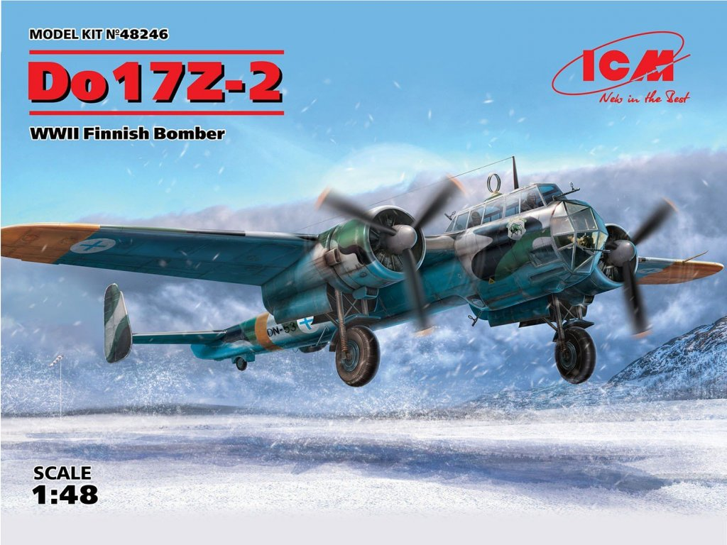 48246 Do17Z 2 Finnish Bomber