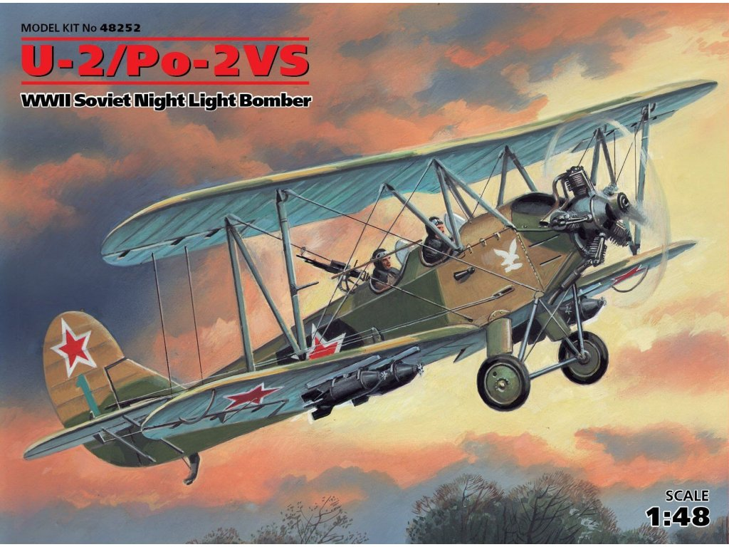 48252 U 2 Po 2VS Soviet Night Light Bomber
