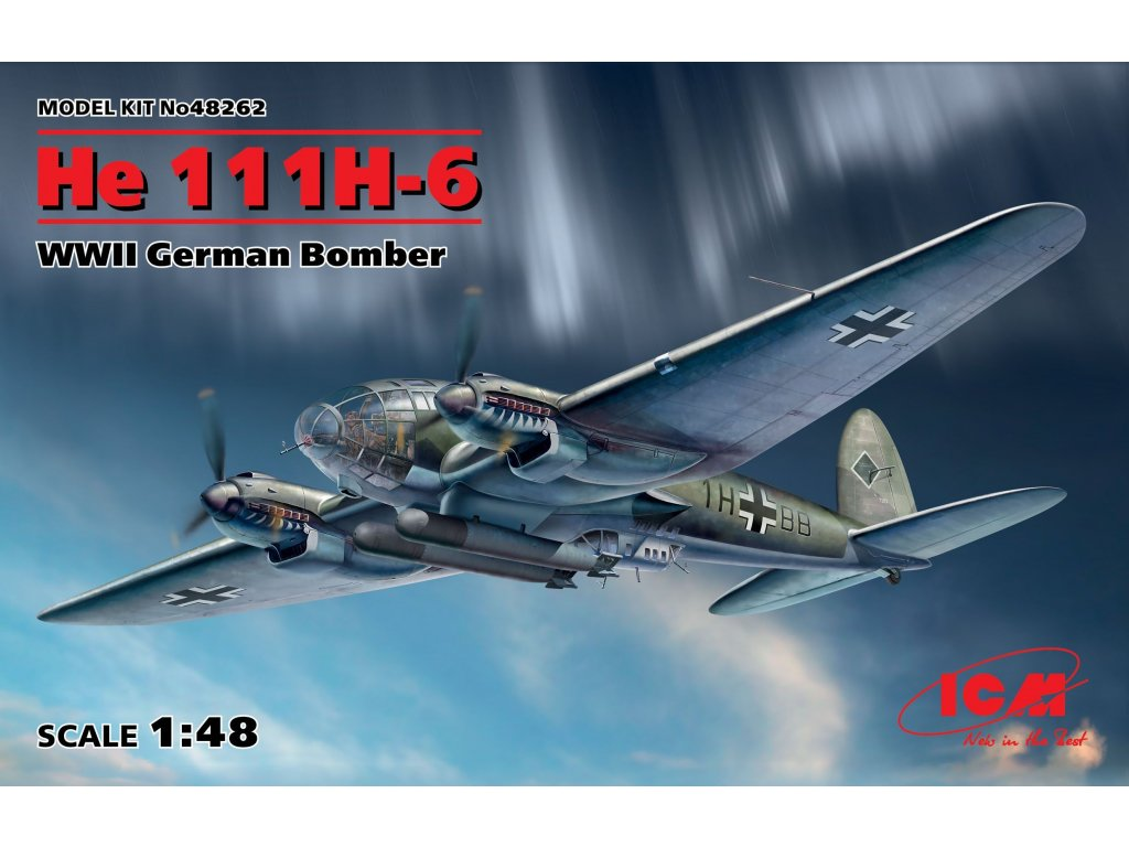 48262 He 111H 6 German Bomber