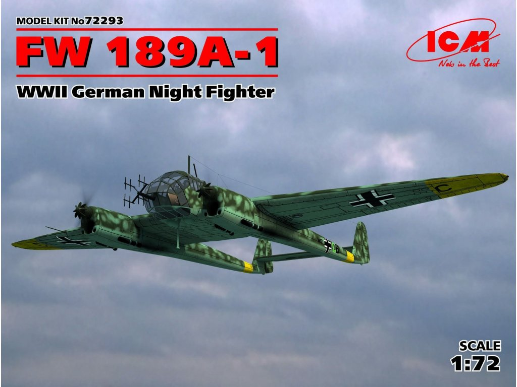 72293 FW 189A 1 Night Fighter