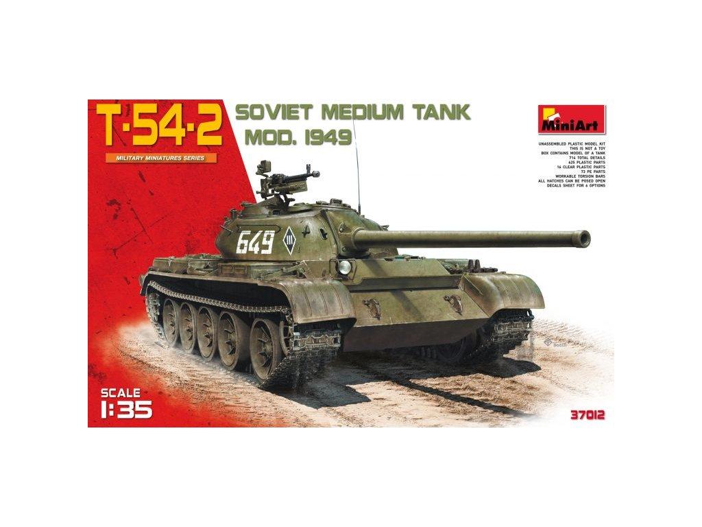 1/35 T-54-2 Soviet Medium Tank Mod.1949
