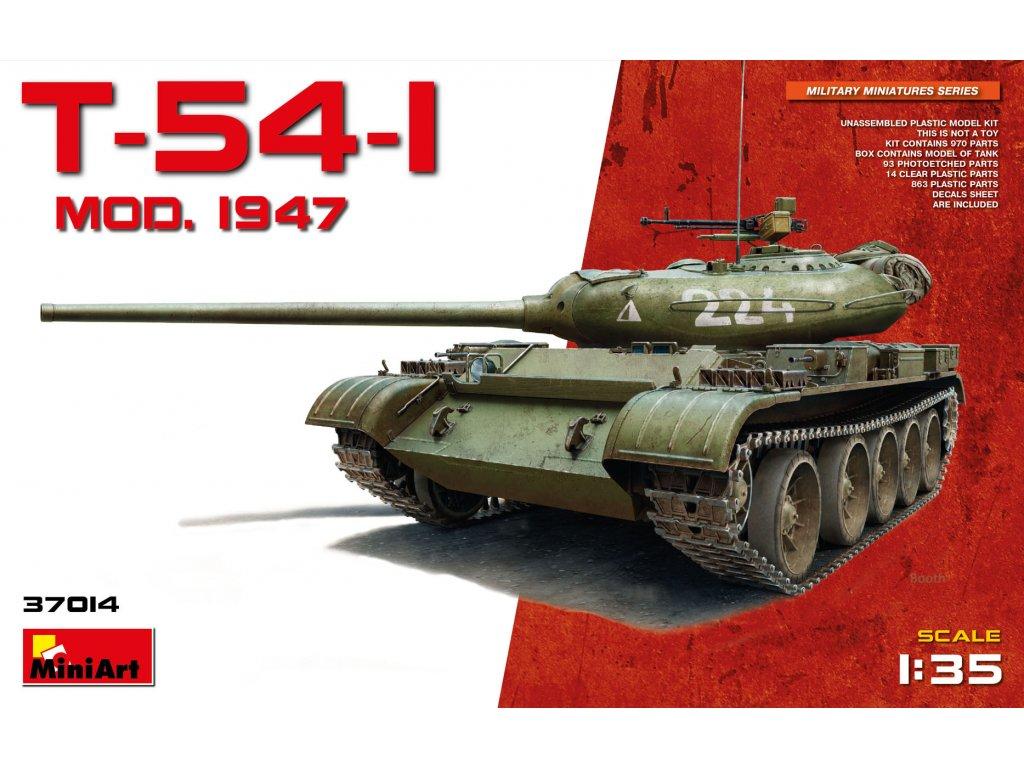 1/35 T-54-1 Soviet Medium Tank