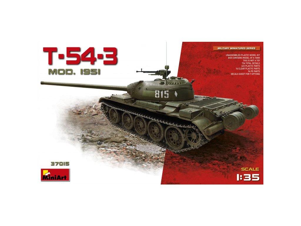 1/35 T-54-3 Soviet Medium Tank Mod.1951