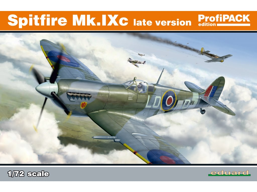 1/72 Spitfire Mk.IXc late version