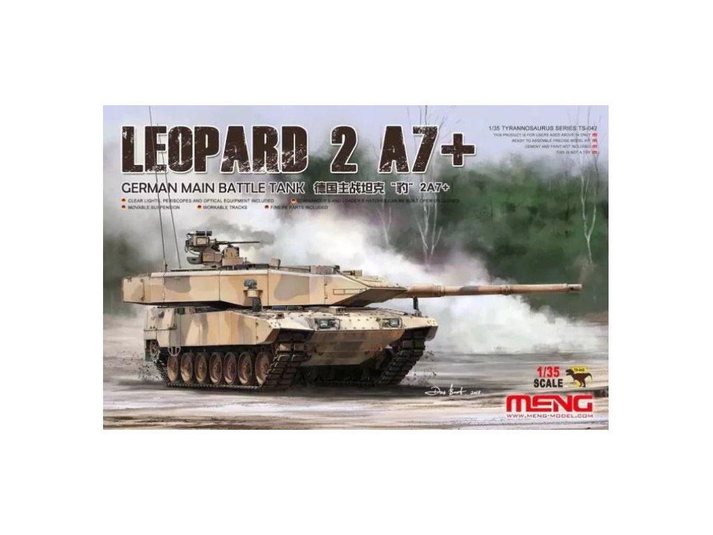 TS 042 German Main Battle Tank Leopard 2 A7+