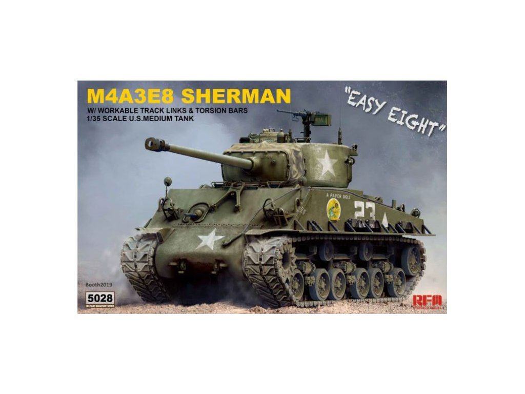 RM 5028 M4A3E8 Sherman Easy Eight