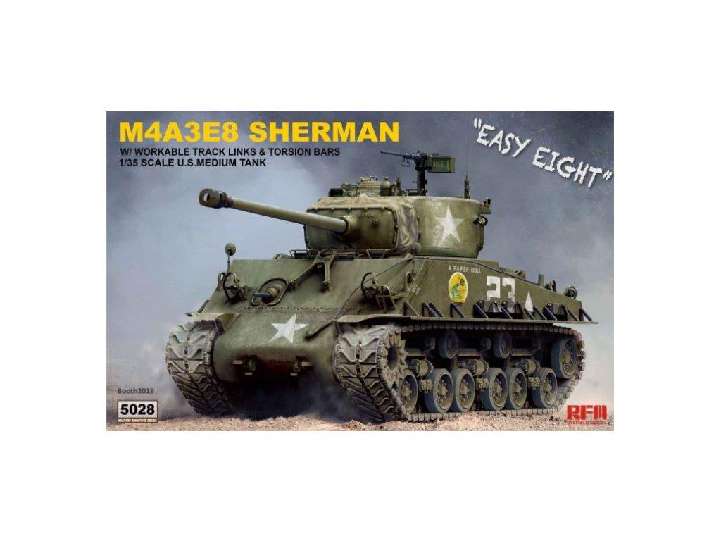RM 5028 M4A3E8 Sherman Easy Eight