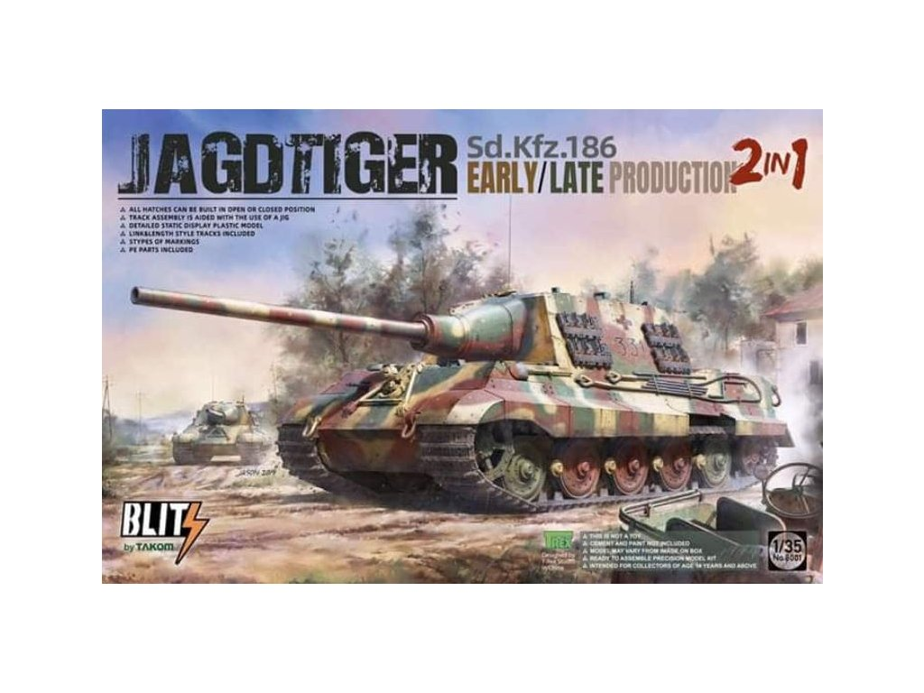 Takom 8001 Jagdtiger
