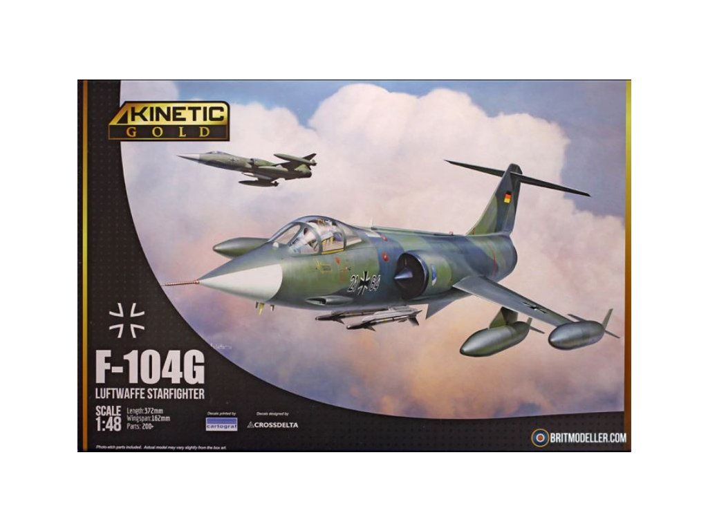 Kinetic 48083 F 104G Luftwaffe