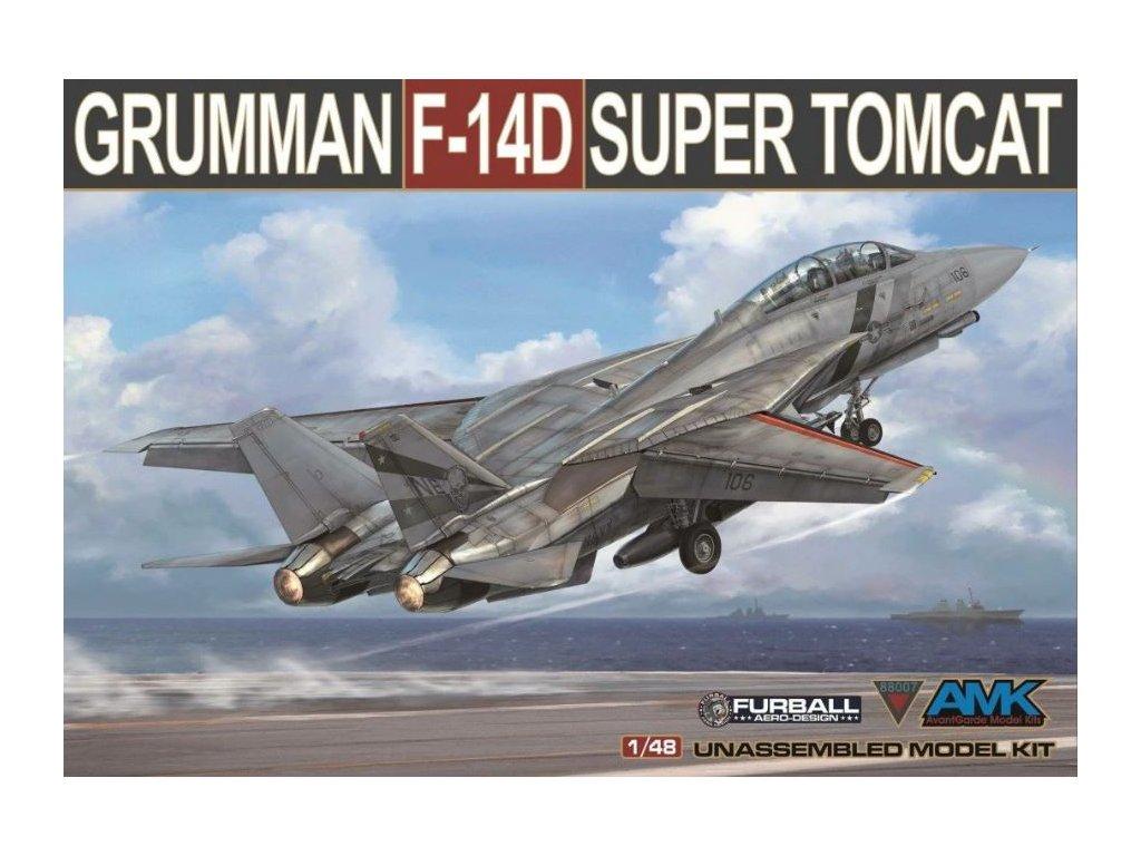 AMK88007 Grumman F 14D Super Tomcat