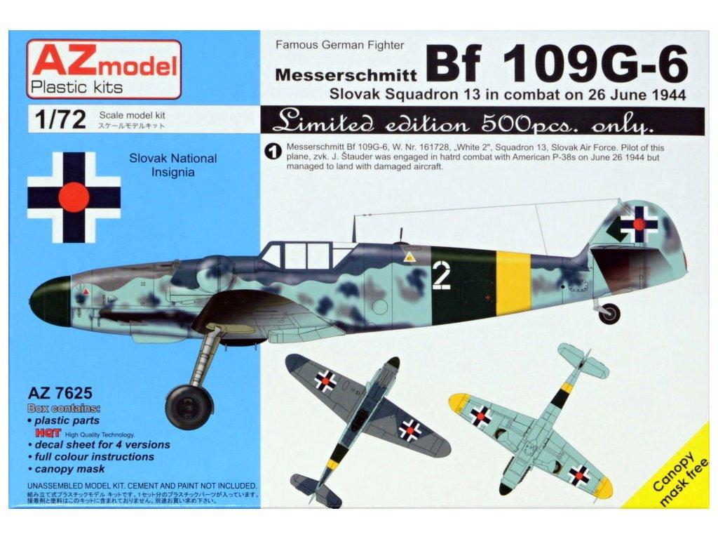AZMO76025 Bf 109G 6