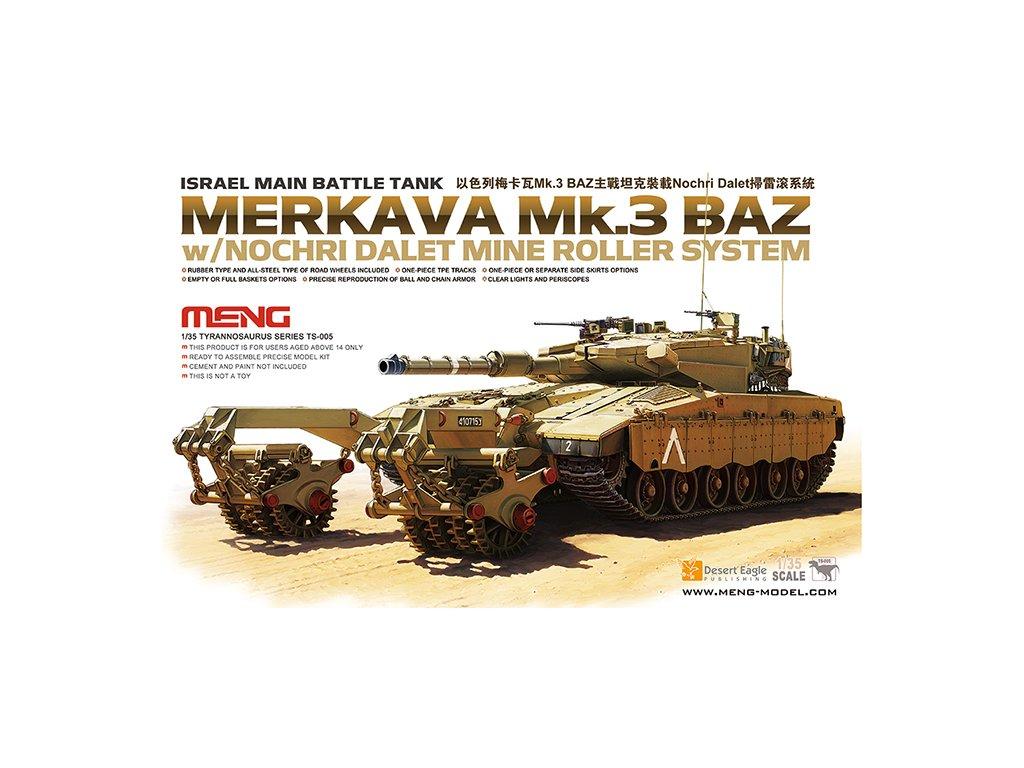 MENTS 005 Merkava Mk.3 BAZ