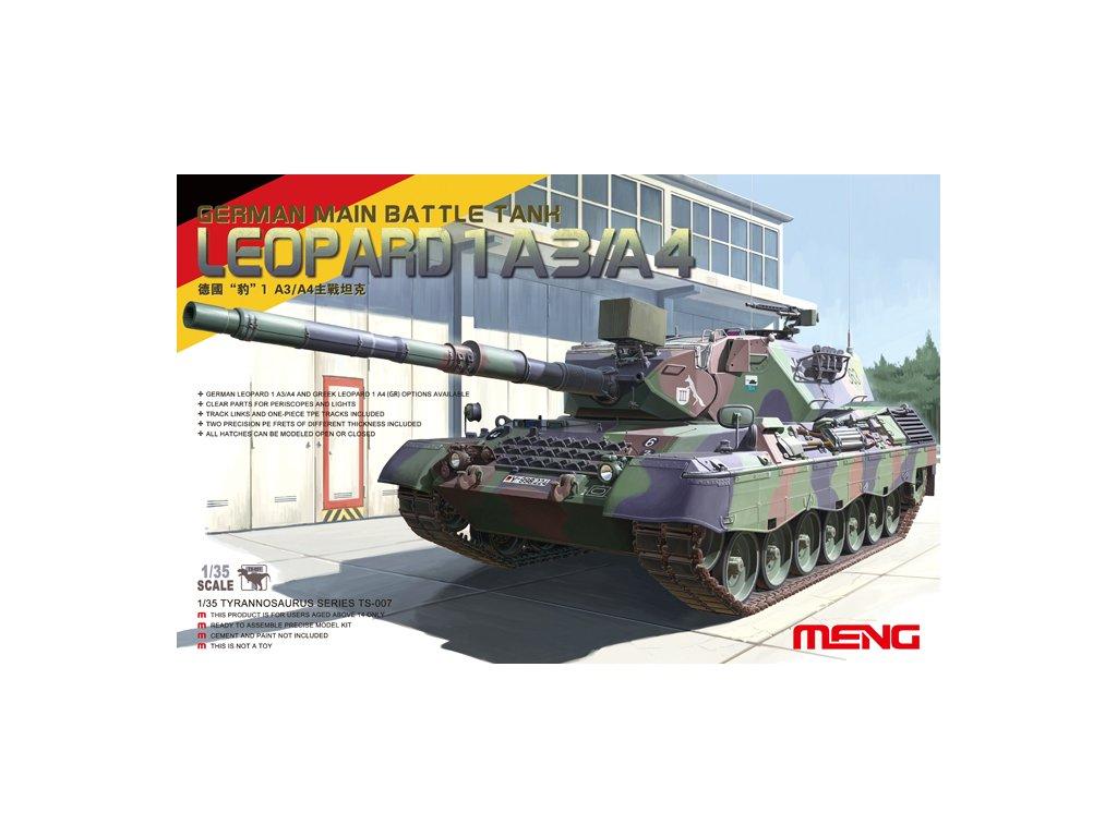 MENTS 007 Leopard 1A3 A4