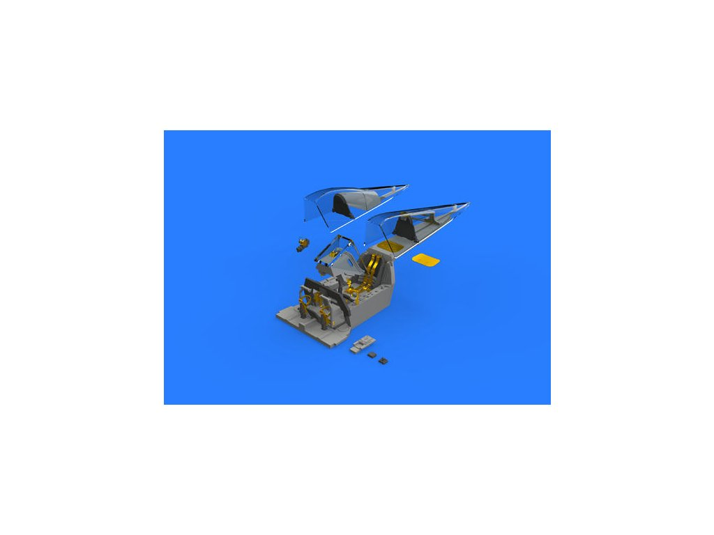 1/32 Fw 190A-8 cockpit    (REVELL)