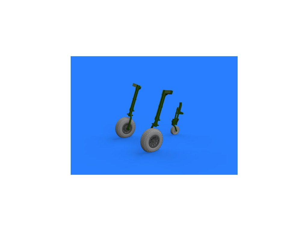 1/32 P-51D wheels    (REVELL)