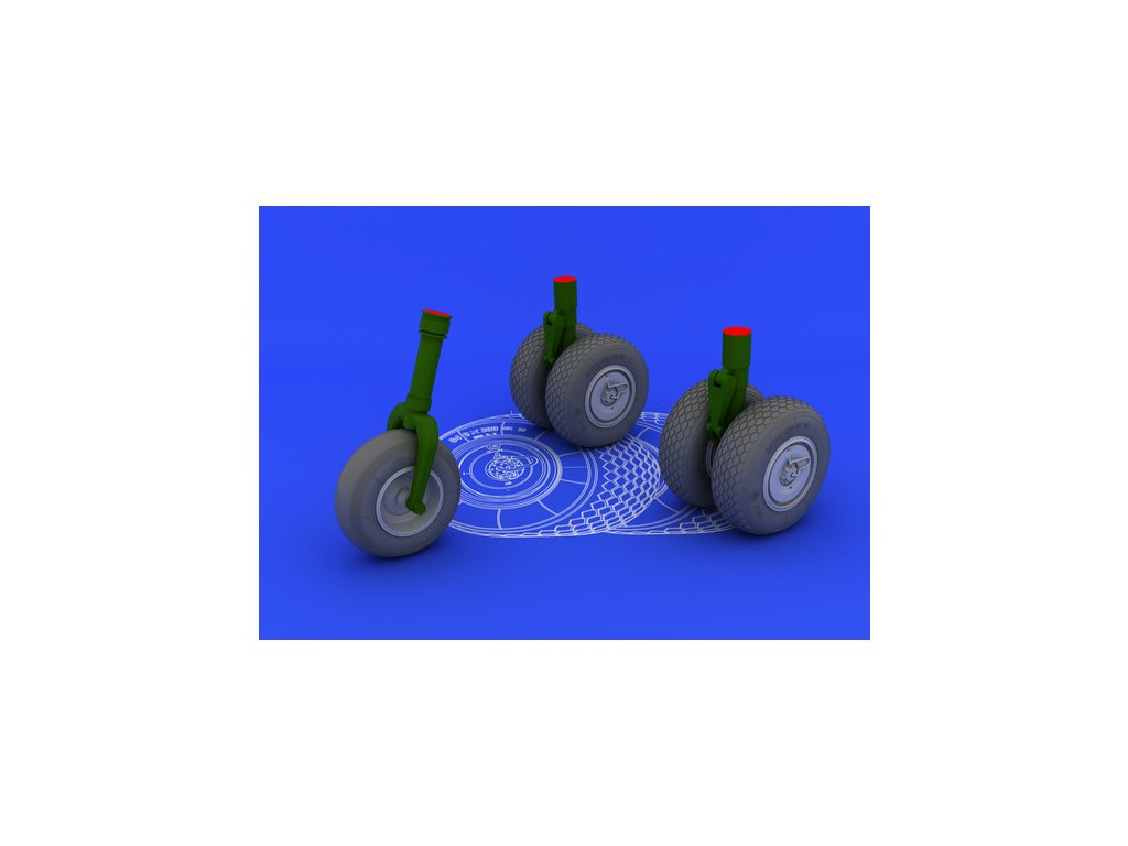 1/32 He 219 wheels (REVELL)