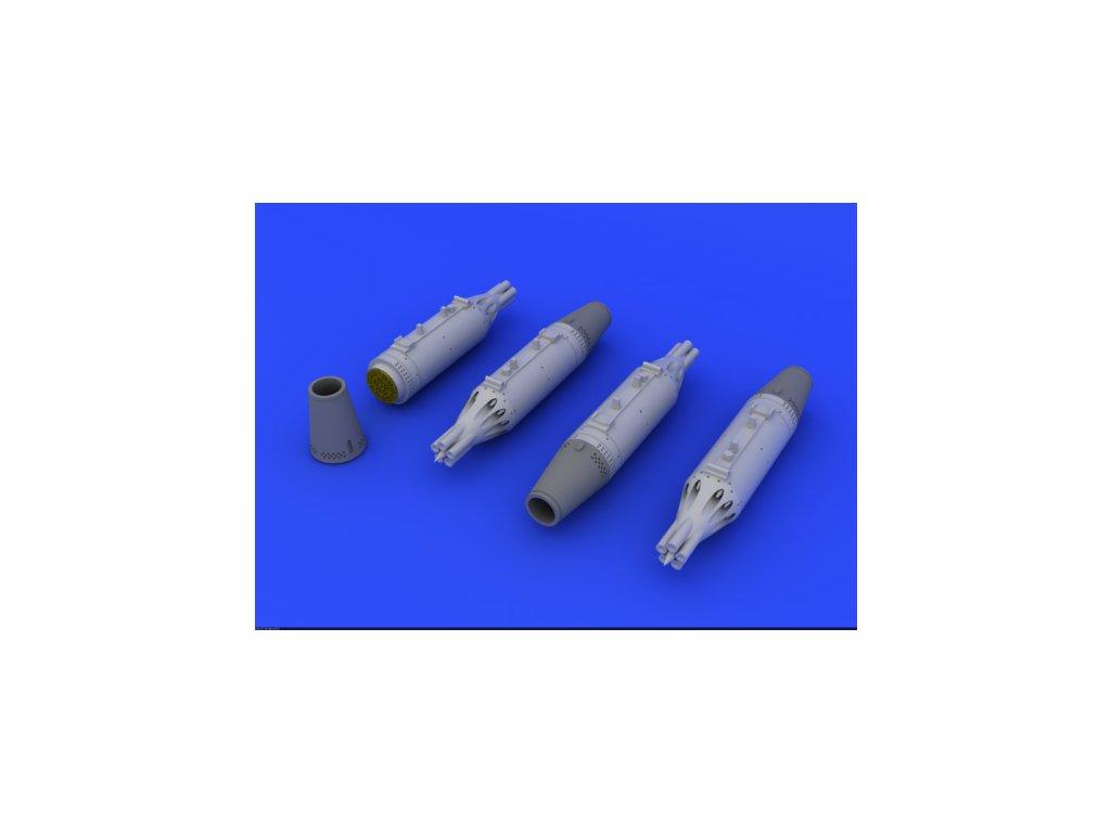1/72 UB-16 rocket launchers for MiG-21    (EDUARD)