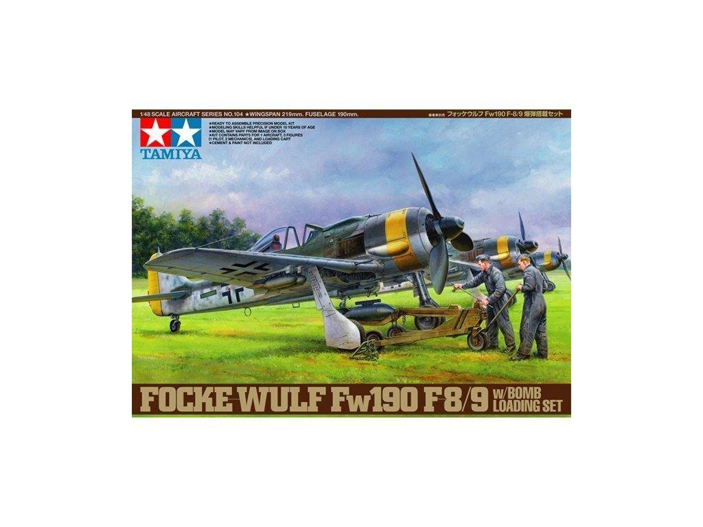 Focke Wulf Fw190 F 8 9 w bomb loading set