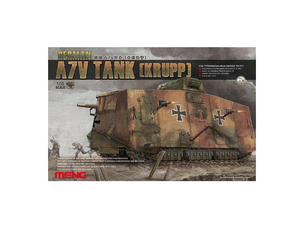 MENTS 017 A7V Tank (Krupp)
