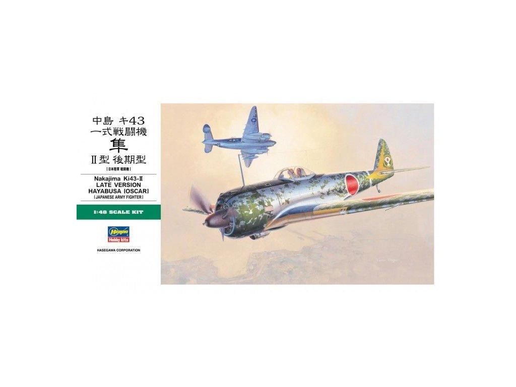 Nakajima Ki 43 II Hayabusa Oscar 1 48