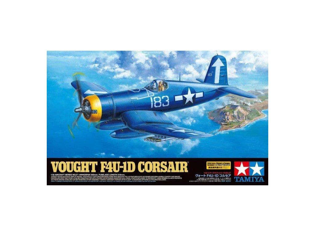 Vought F4U 1D Corsair 1 32 60327 Tamiya