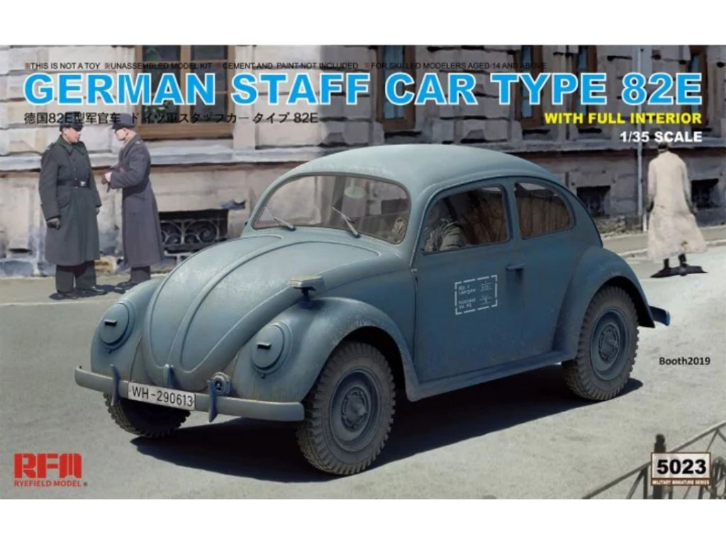 RM 5023 German Staff Car Type 82E with full interior