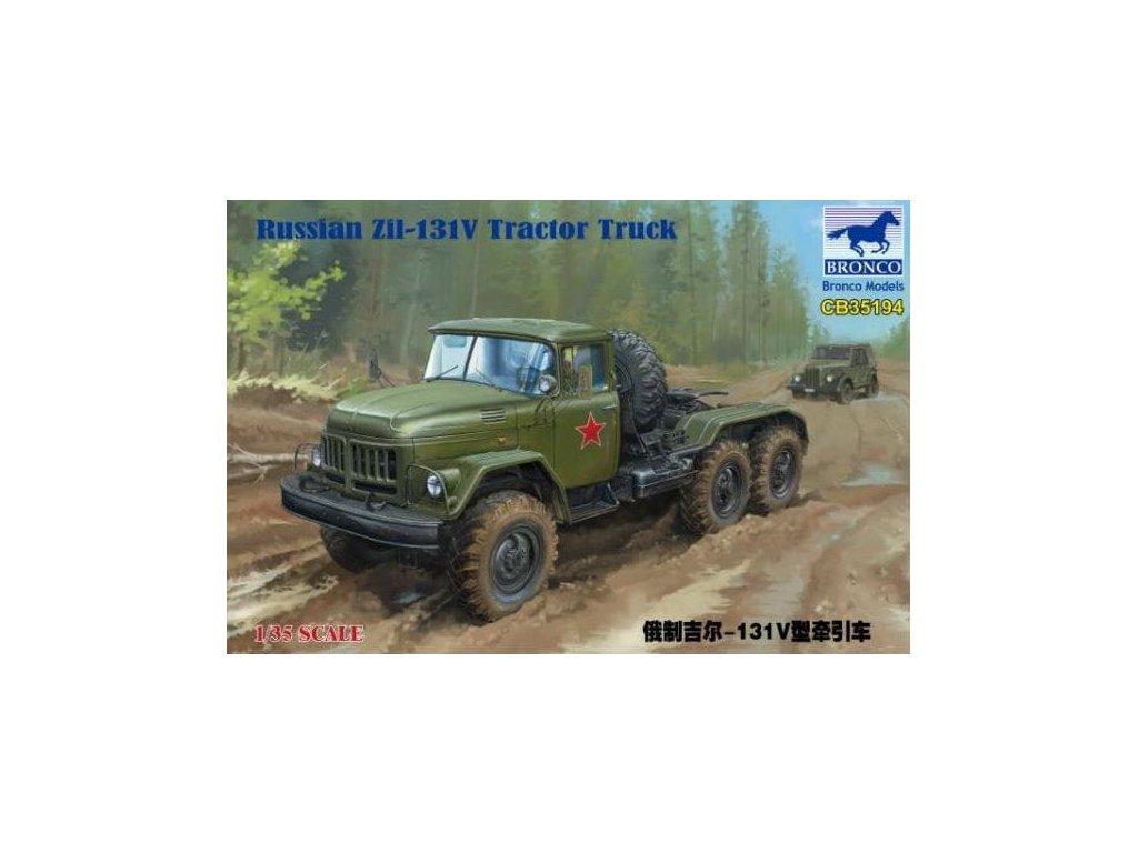 CB35194 Russian Zil 131V Tractor Truck