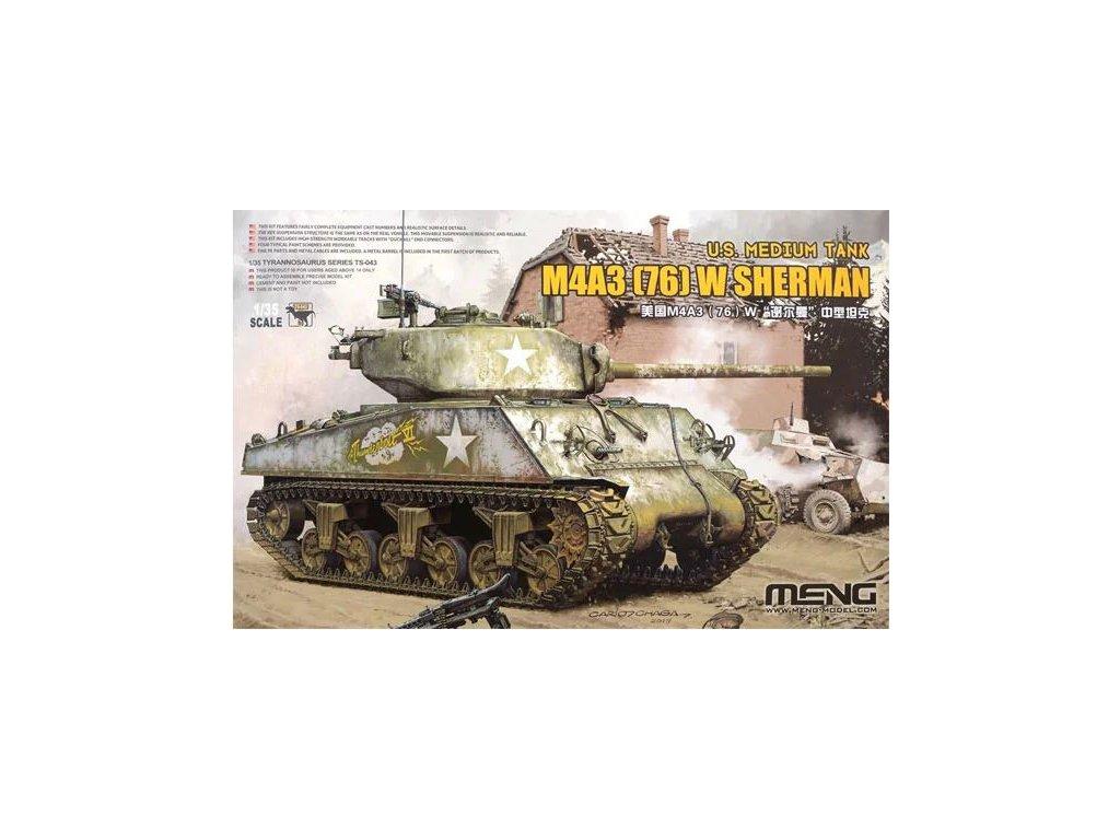 MENTS 043 M4A3 (76) W Sherman