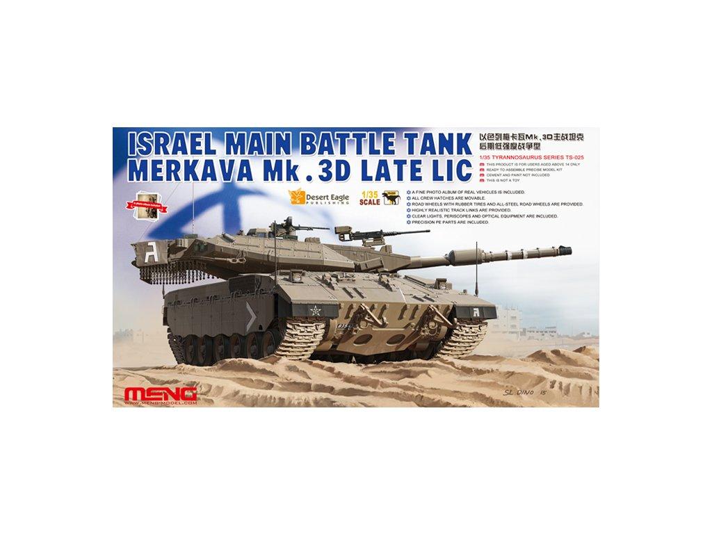 MENTS 025 Merkava Mk.3D late LIC