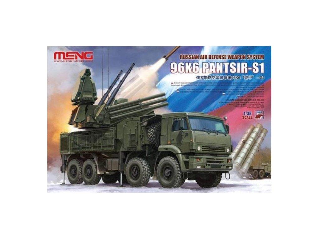 SS 016 Russian Air Defense Weapon System 96K6 PANTSIR S1