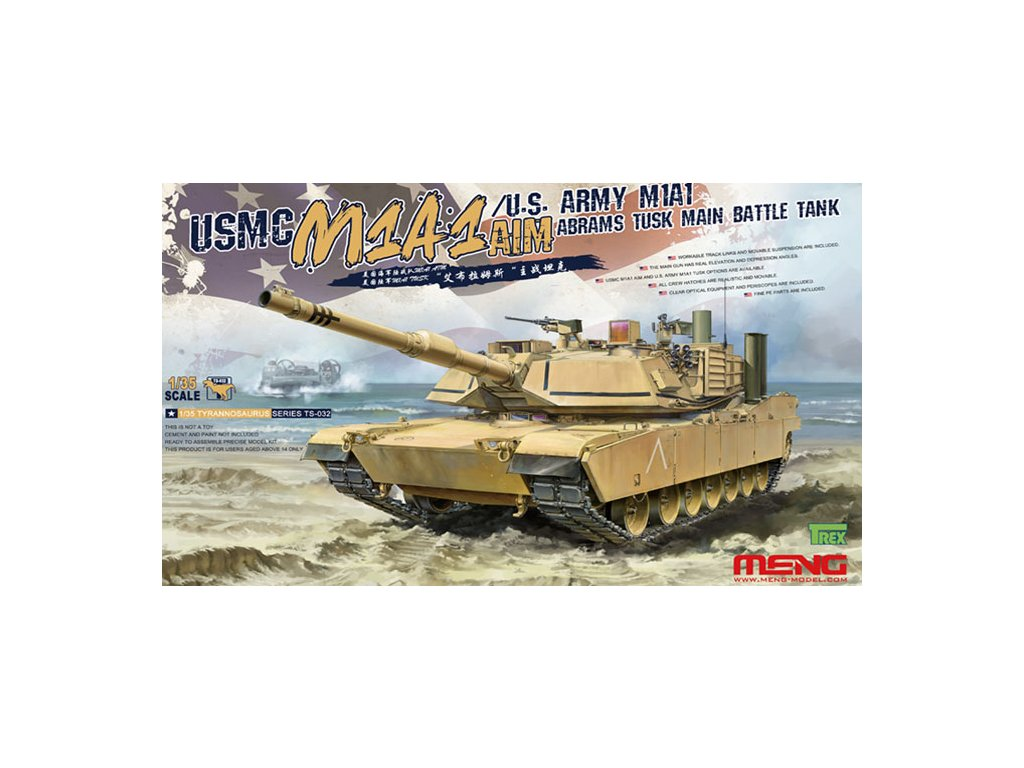 MENTS 032 USMC M1A1 ABRAMS