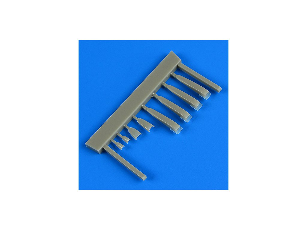 1/48 Kfir C2/C7 air scoops (AMK)