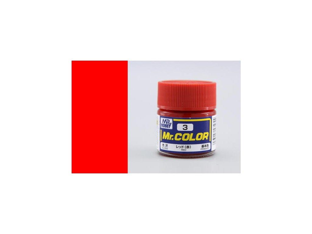 GNZC003 red červená