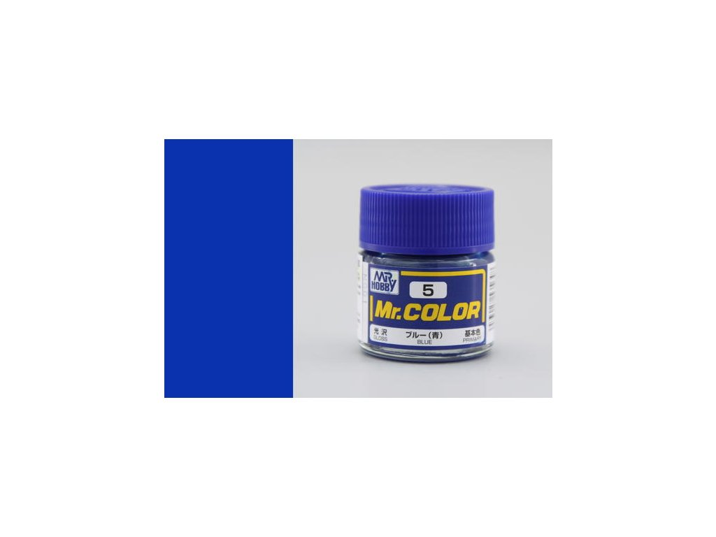 GNZC005 blue modrá