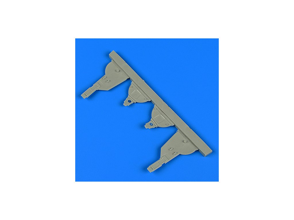 1/48 Ki-61-ld Hein undercarriage covers (TAM)