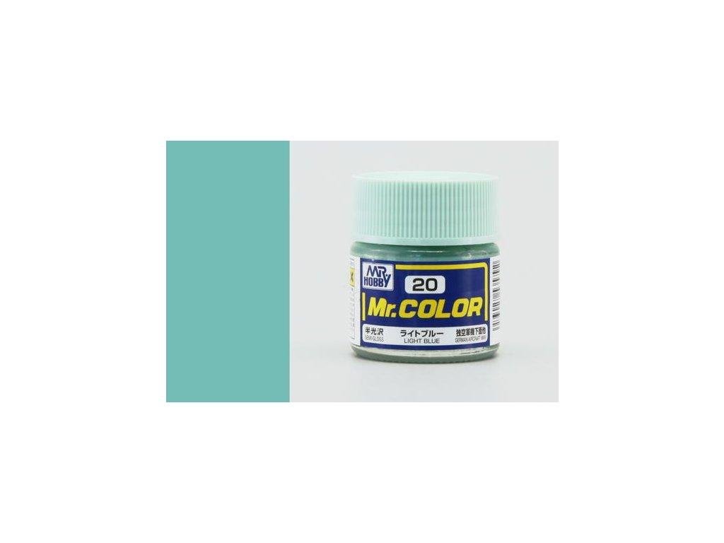 GNZC020 light blue světle modrá