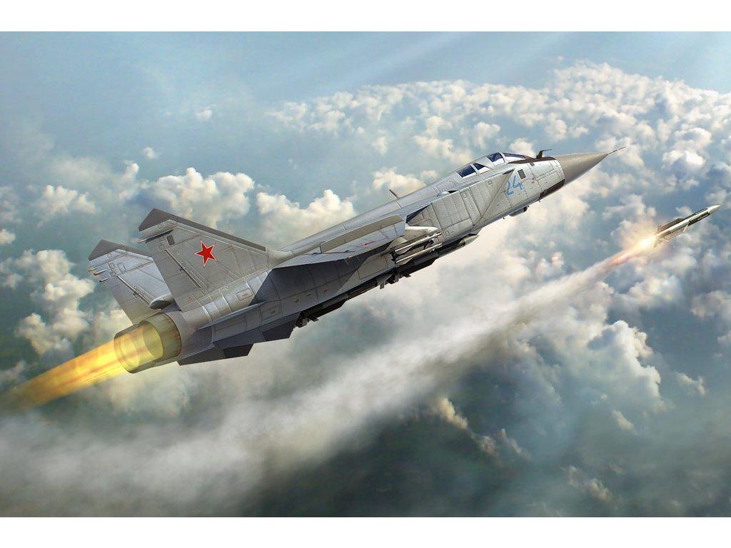 81753 MiG 31 Foxhound Hobbyboss