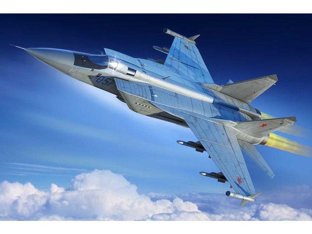 81755 MiG 31M Foxhound Hobbyboss