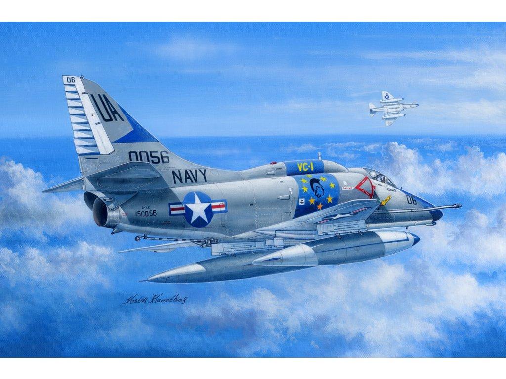 A 4E Sky Hawk 81764 Hobbyboss