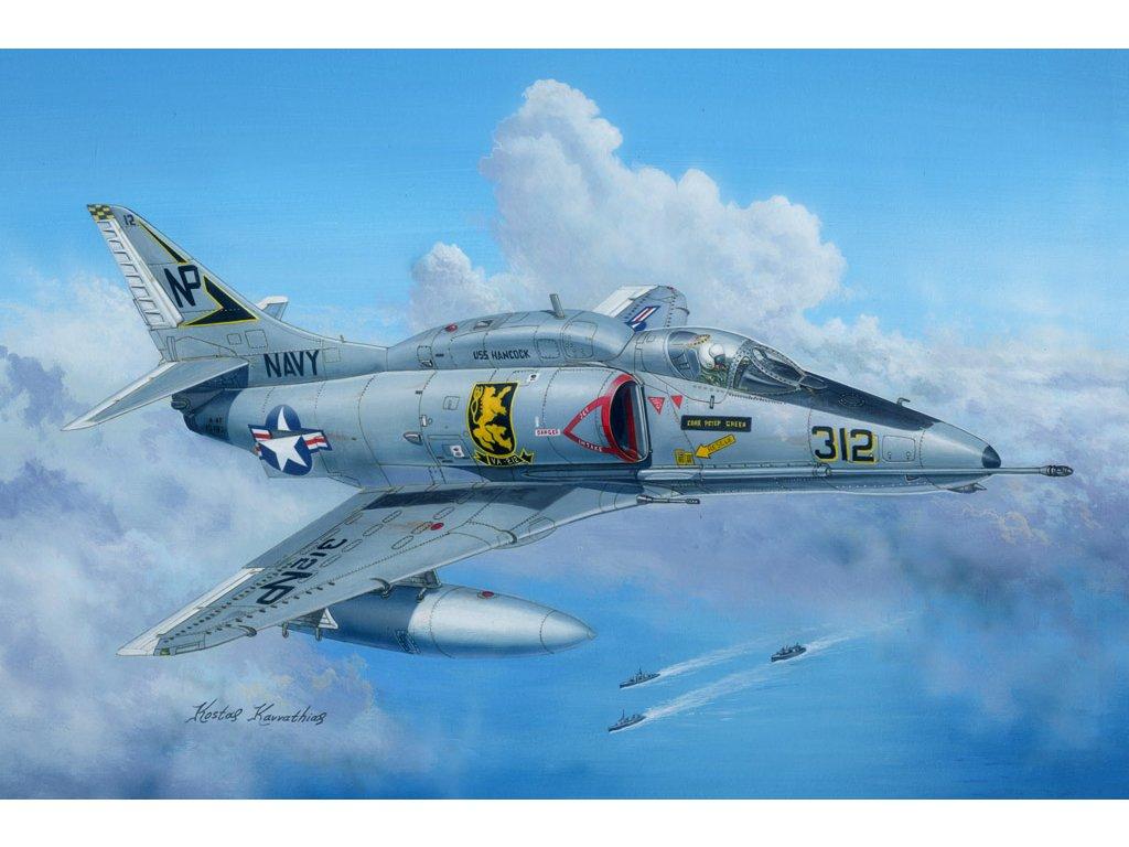 A 4F Sky Hawk 81765 Hobbyboss