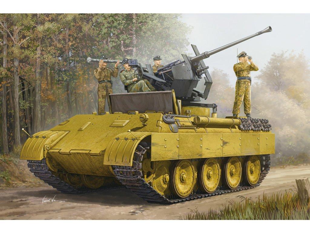 German Panther Ausf.D Flak Bergepanther 82492