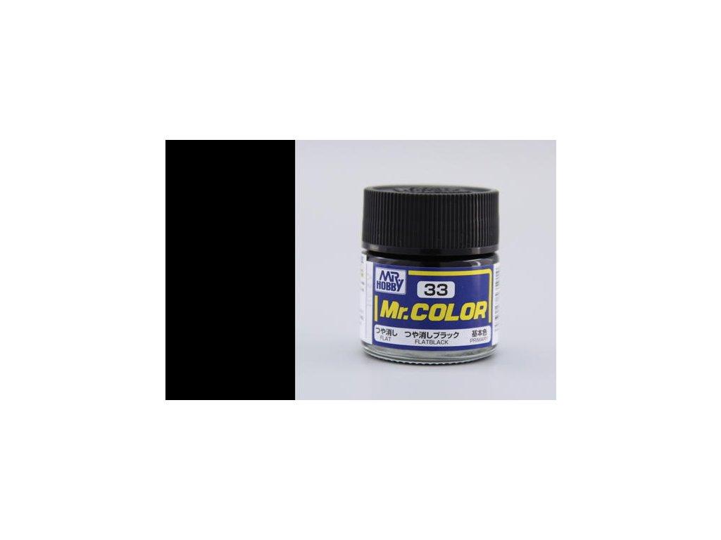 GNZC033 Flat Black Matná černá