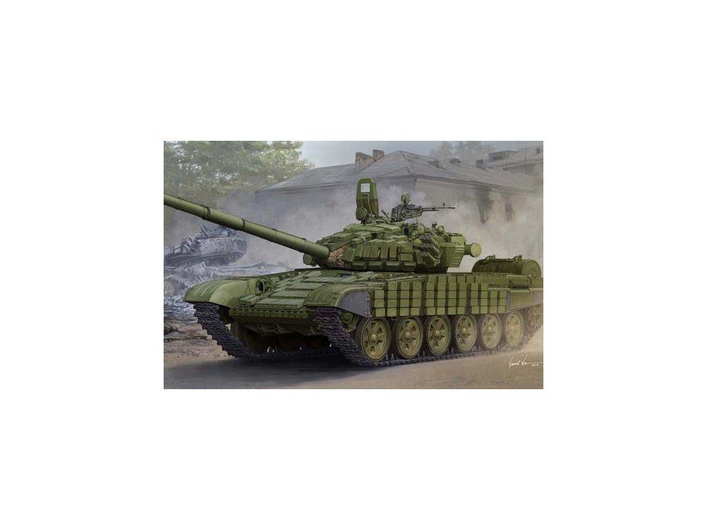 Russian T 72B B1 MBT (w kontakt 1 reactive armor) 05599