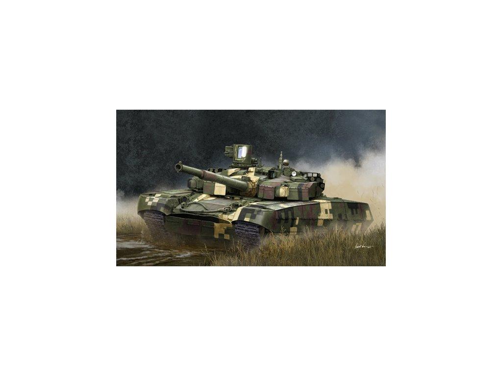 Ukrainian T 84BM Oplot MBT 09512