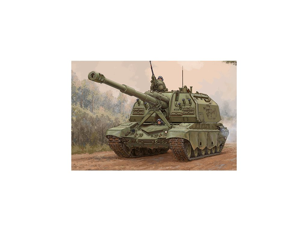 2S19 M2 Self propelled Howitzer 09534