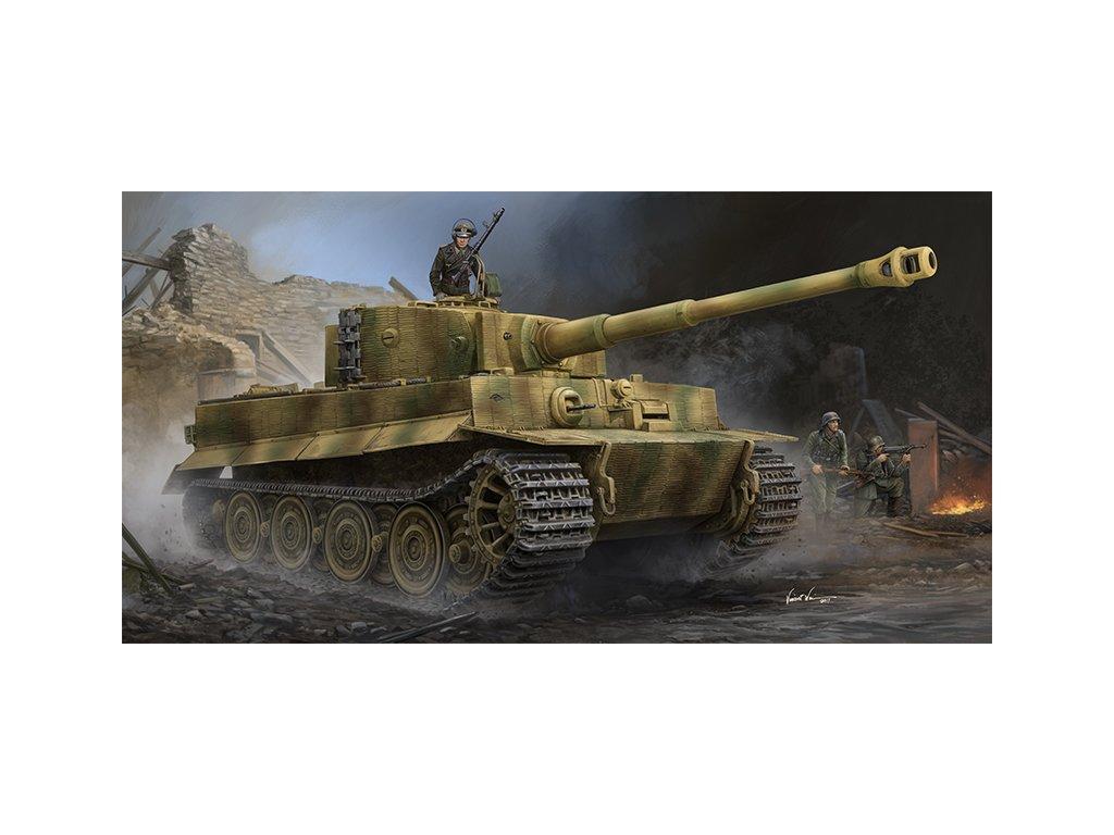 Pz.Kpfw.VI Ausf.E Sd.Kfz.181 Tiger I (Late Production) w Zimmerit 09540