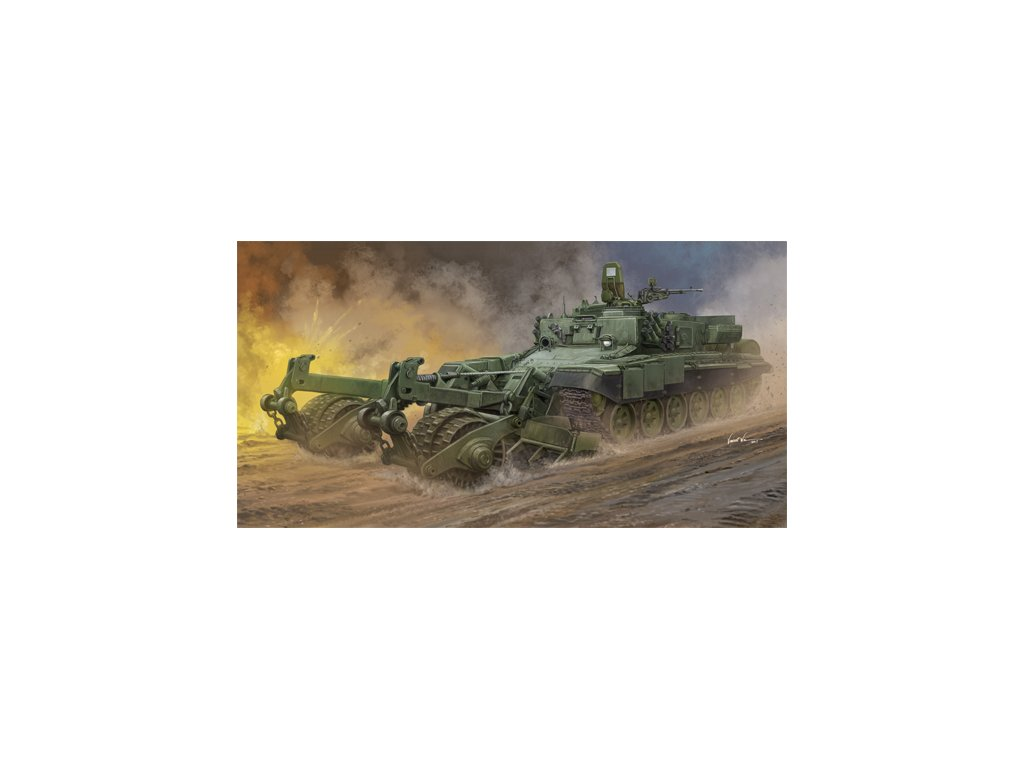 Russian Armored Mine Clearing Vehicle BMR 3 09552
