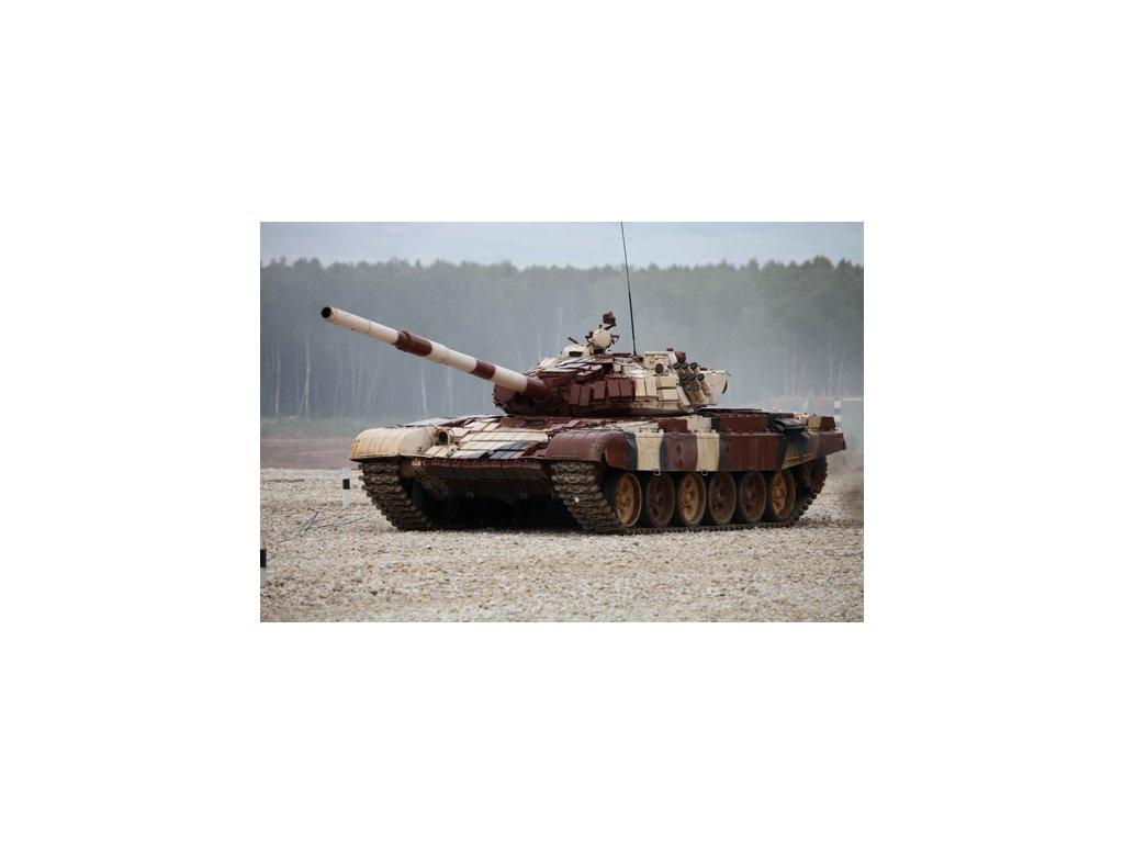 Russian T 72B1 MBT (w kontakt 1 reactive armor)