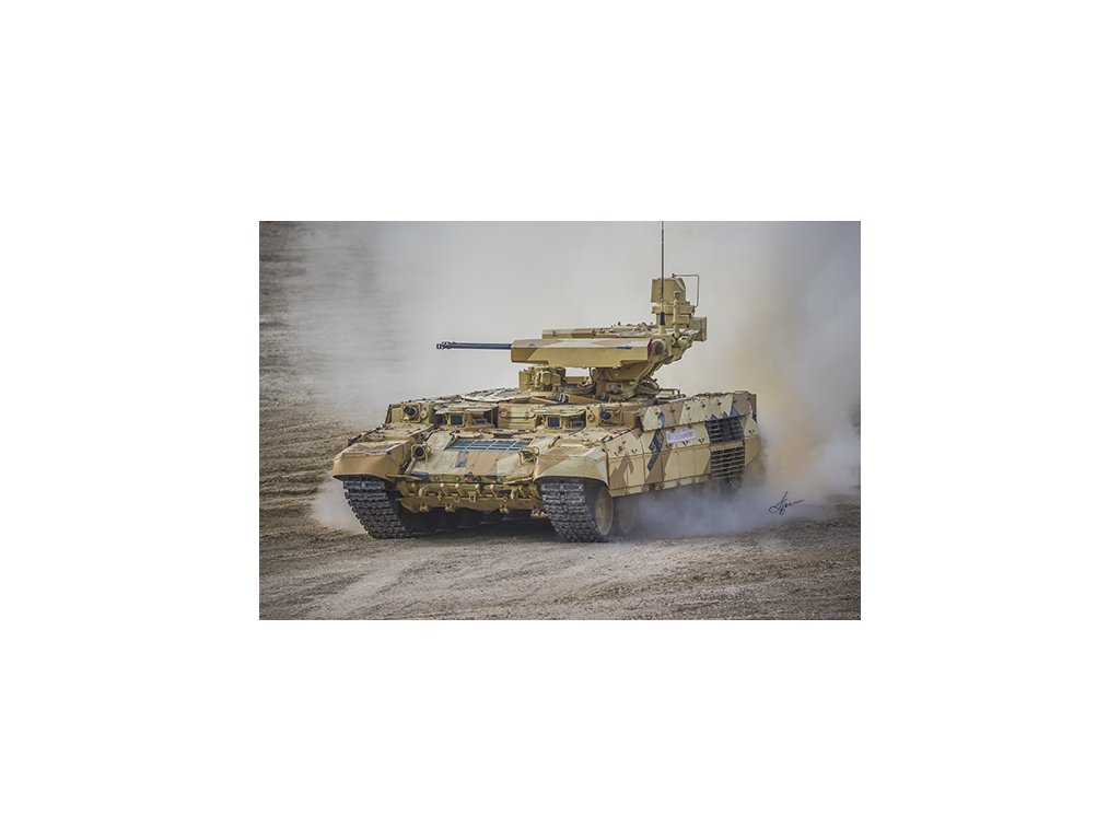 Russian Obj199 BMPT Ramka w ATGM launcher ATAKA 09565
