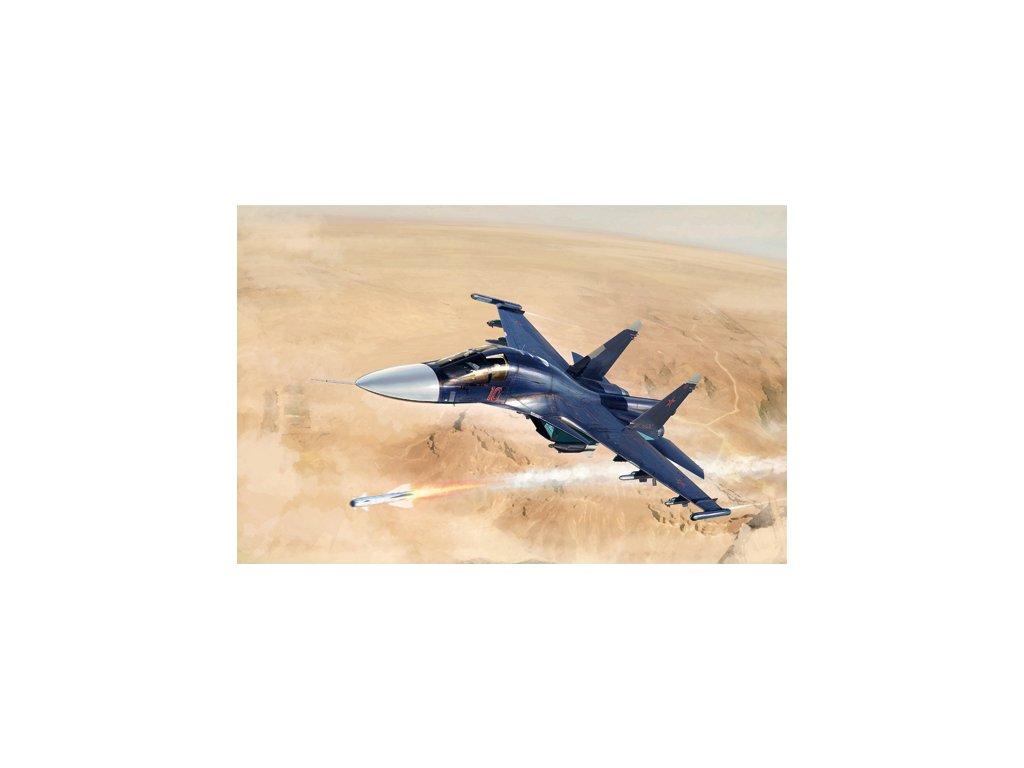 Russian Su 34 Fullback Fighter Bomber 01652